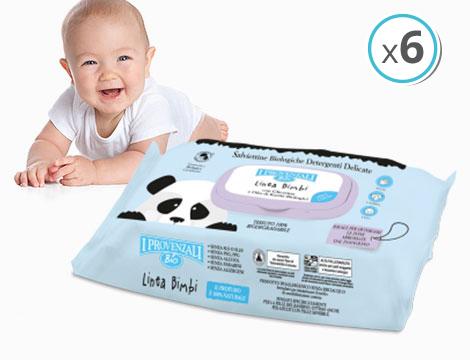 pack salviette detergenti I Provenzali