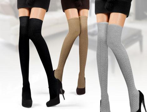 Pack 6 calze Parigine Overknee_N