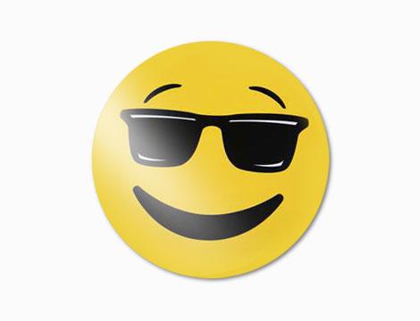 6 tovagliette plastificate emoticons