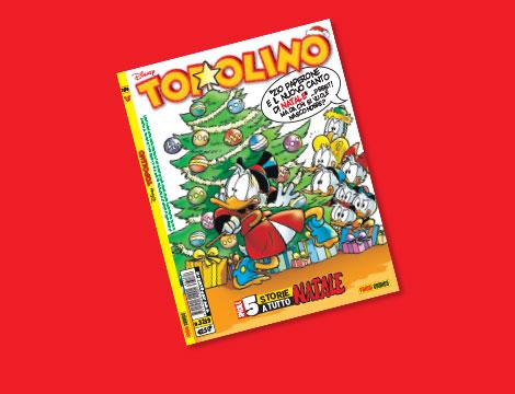 Abbonamento 10 numeri Topolino con regalo