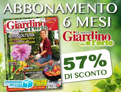 Abbonamento 6 mesi Il mio giardino_N
