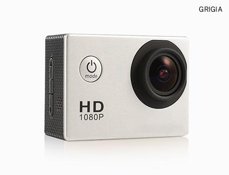 Action Pro camera con accessori
