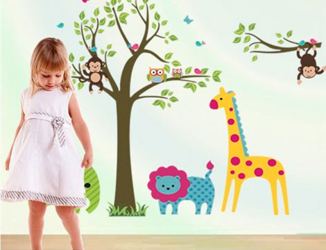 Offerta shopping adesivi decorativi da parete groupalia for Adesivi decorativi