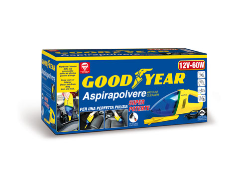 Aspirapolvere auto Goodyear