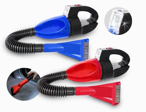 Aspirapolvere auto con accessori