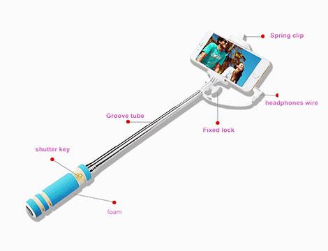 Asta per selfie monopod