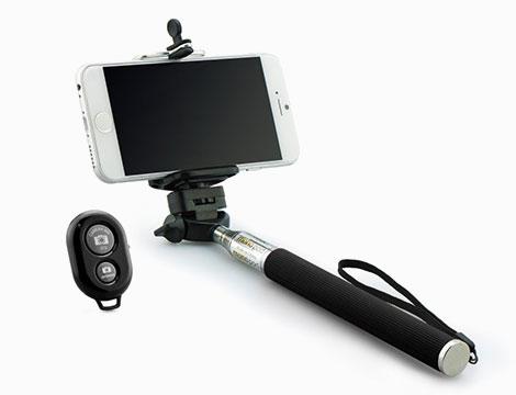 Asta selfie con telecomando e custodia