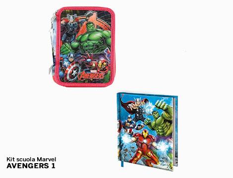 Kit scuola Marvel
