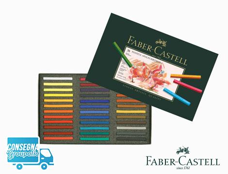 Astuccio Faber Castell 36 Crete pastello Polychromos