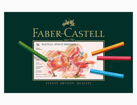 Astuccio Faber-Castell 36 Crete pastello Polychromos