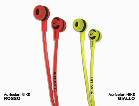 Auricolari Nike con microfono