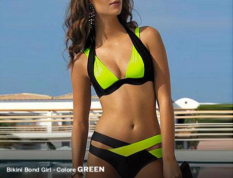 Bikini Bond Girl colorati