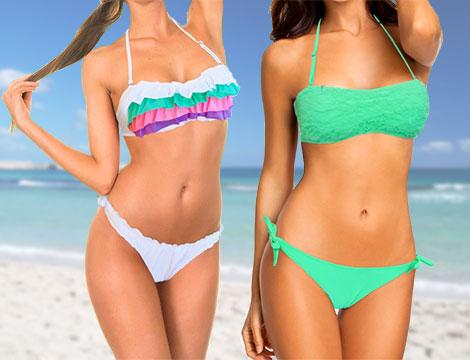 Bikini a fascia colours summer_N