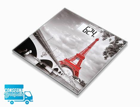 Bilancia pesapersone in vetro Beurer GS203 Paris