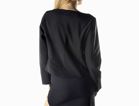 Blazer Sexy Woman retro nero