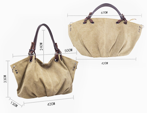 Borsa Tote in canvas