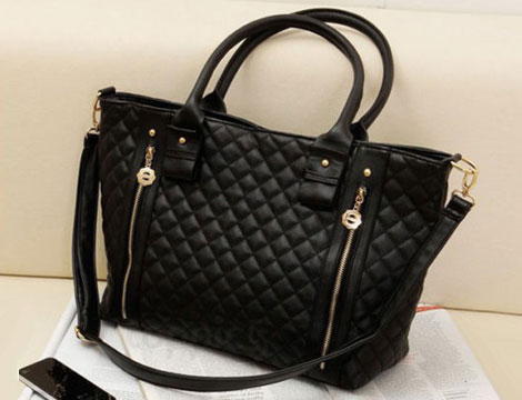 Borsa Tote in similpelle_N