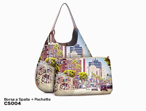 Borsa a Spalla Pochette Big Cities_N