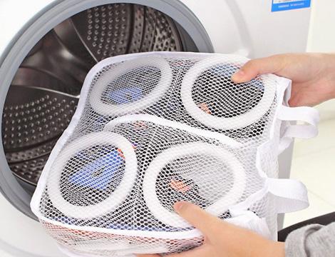 Borse a rete per lavaggio scarpe_N