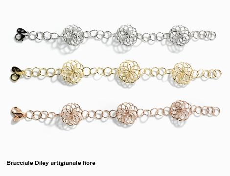 Bracciale DiLey artigianale fiore