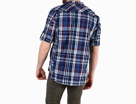Camicia scozzese Absolut Joy retro