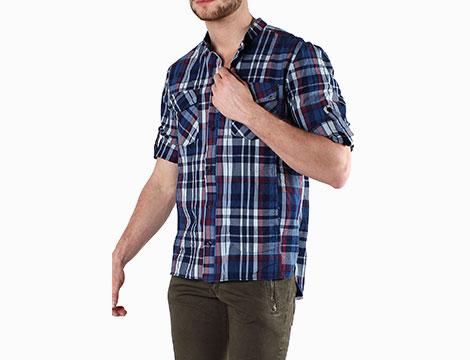Camicia scozzese Absolut Joy trequarti
