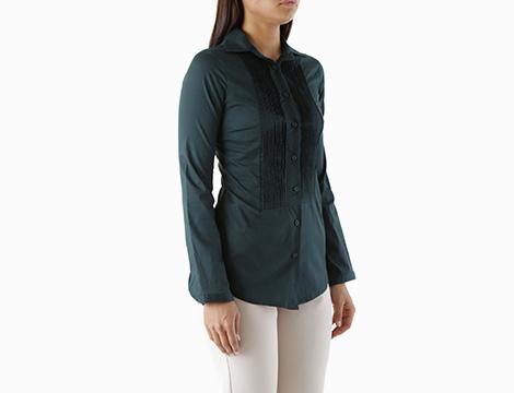 Camicia verde Sexy Woman laterale
