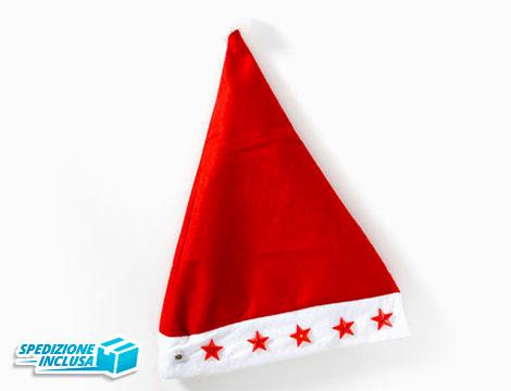Cappello Babbo Natale LED