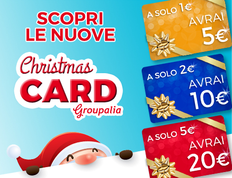 Card Groupalia Natale