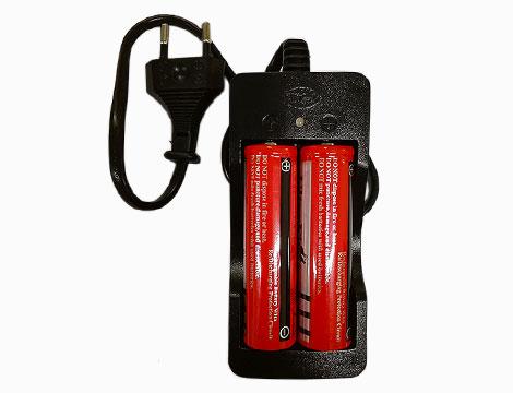 Caricabatterie e batterie in omaggio_N