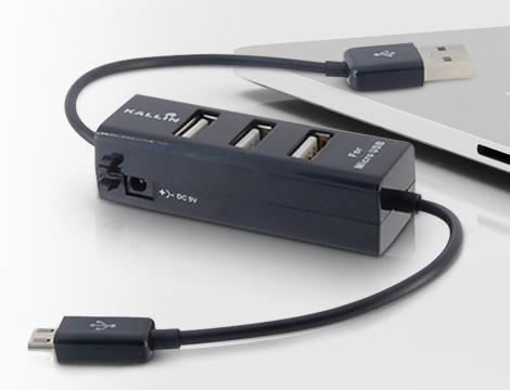 Ciabatta 3 ingressi USB e microUSB GRATIS