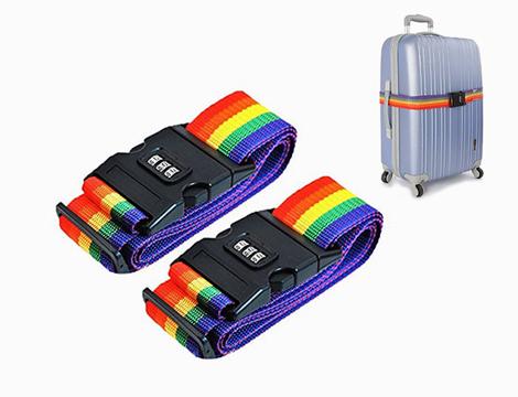 Cinghie con combinazione per valigia_N
