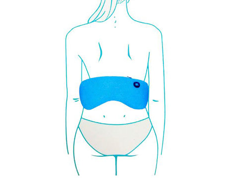 Cintura massaggio lombare