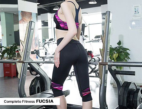 Completo fitness donna