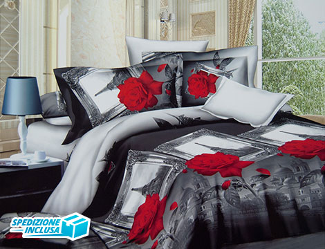Completo Letto Matrimoniale 3D_N
