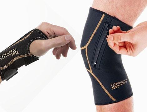 Copper fit mano e ginocchio