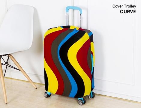 Cover colorata per trolley