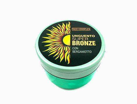 Abbronzante Super Bronze Face complex con bergamotto