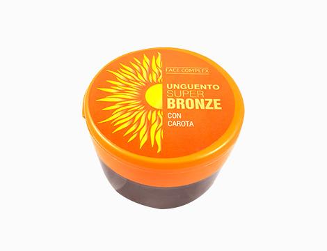 Abbronzante Super Bronze Face complex con carote