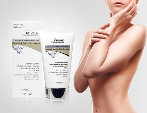 Crema corpo effetto levigante e nutriente