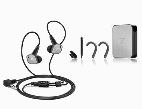 Sennheiser IE 80 EAST In-Ear Headphones_N