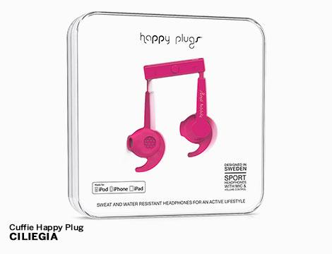 Cuffie Sport Happy Plugs vari colori