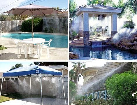 Diffusore acqua per terrazza o giardino_N