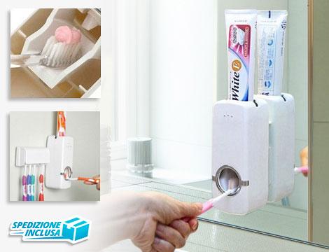 Dispenser dentifricio e portaspazzolini_N