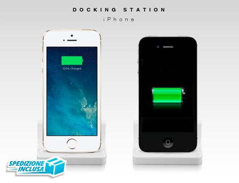 Dock station per iPhone 4/4s/5