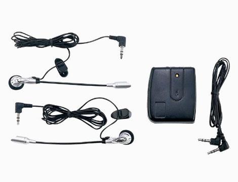 Interfono moto doppio con filo_N