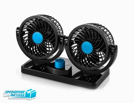 Doppio ventilatore per auto_N