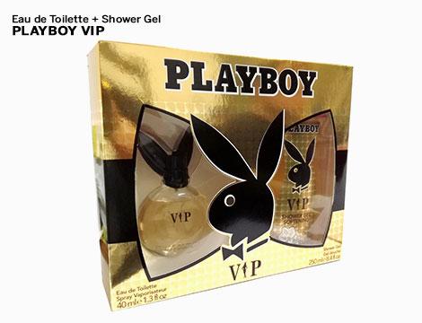 Eau de toilette shower gel Playboy_N