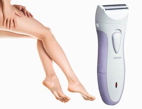 Epilatore e rasoio elettrico per donna_N