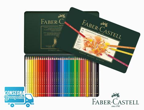 Astuccio Faber Castell 36 matite colorate polychromos